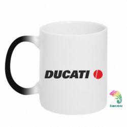 Кружка-хамелеон Ducati - FatLine