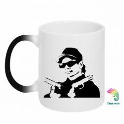 Кружка-хамелеон Eazy-E Gunz - FatLine