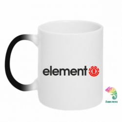 Кружка-хамелеон Element Logo - FatLine