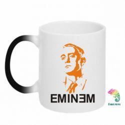 Кружка-хамелеон Eminem Logo - FatLine