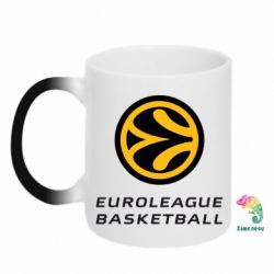 Кружка-хамелеон Euroleague Basketball - FatLine