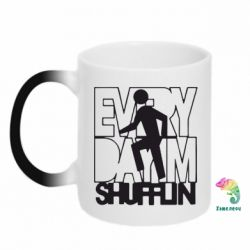 Кружка-хамелеон Every Day I'm shufflin - FatLine