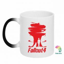 Кружка-хамелеон Fallout 4 Art - FatLine