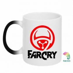 Кружка-хамелеон FarCry LOgo - FatLine