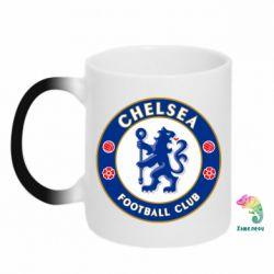Кружка-хамелеон FC Chelsea - FatLine