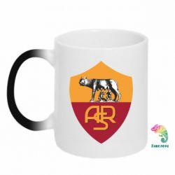 Кружка-хамелеон FC Roma - FatLine