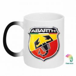 Кружка-хамелеон FIAT Abarth - FatLine