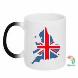 Кружка-хамелеон Флаг Англии - FatLine