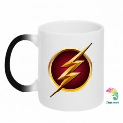 Кружка-хамелеон Flash Logo Art