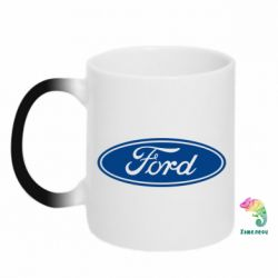 Кружка-хамелеон Ford Logo - FatLine