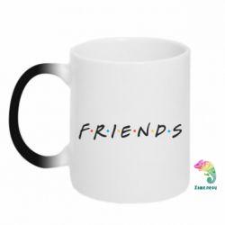 Кружка-хамелеон Friends