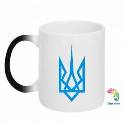 Кружка-хамелеон Герб України загострений - FatLine