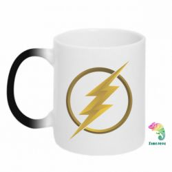 Кружка-хамелеон Gold Logo Flash