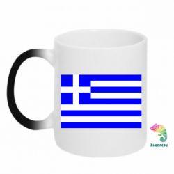 Кружка-хамелеон Греция - FatLine