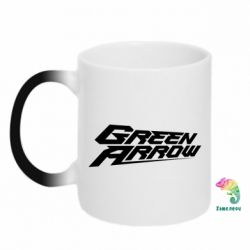 Кружка-хамелеон Green Arrow - FatLine