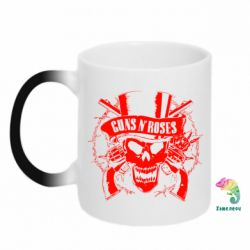 Кружка-хамелеон Guns n' Roses Logo