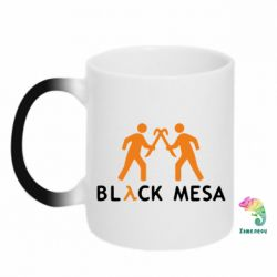 Кружка-хамелеон Half Life Black Mesa - FatLine