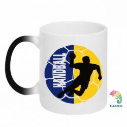 Купить Кружка-хамелеон Handball Logo, FatLine