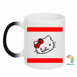 Кружка-хамелеон Hello Kitty DMC - FatLine