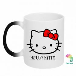 Кружка-хамелеон Hello Kitty