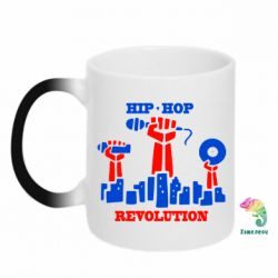 Кружка-хамелеон Hip-hop revolution