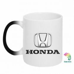 Кружка-хамелеон Honda 3D Logo - FatLine
