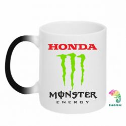 Кружка-хамелеон Honda Monster Energy