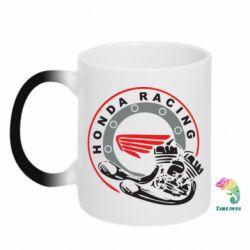 Кружка-хамелеон Honda Racing - FatLine