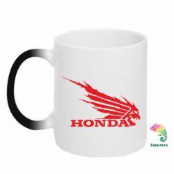Кружка-хамелеон Honda Skelet - FatLine