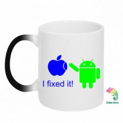 Кружка-хамелеон I fixed it! Android - FatLine