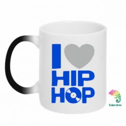 Кружка-хамелеон I love hip-hop