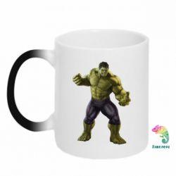 Кружка-хамелеон Incredible Hulk 2