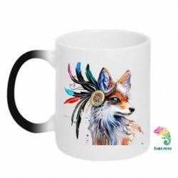 Кружка-хамелеон Indian Fox