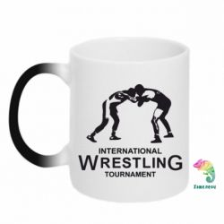 Кружка-хамелеон International Wrestling Tournament