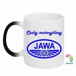 Кружка-хамелеон Java Cesky Motocyclovy - FatLine