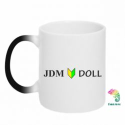 Кружка-хамелеон JDM Doll - FatLine