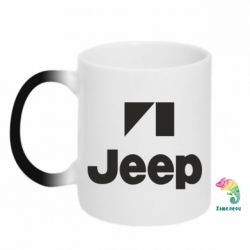 Кружка-хамелеон Jeep Logo - FatLine