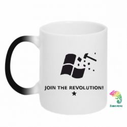 Кружка-хамелеон Join the revolution - FatLine