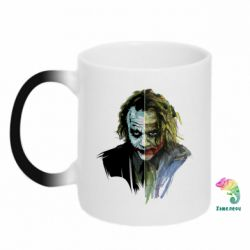 Кружка-хамелеон Joker Art Face - FatLine