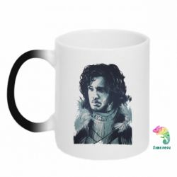 Кружка-хамелеон Jon Snow Art - FatLine