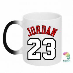 Кружка-хамелеон Jordan 23 - FatLine