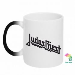 Кружка-хамелеон Judas Priest Logo