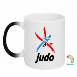 Кружка-хамелеон Judo Logo