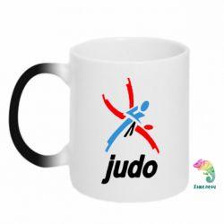 Кружка-хамелеон Judo Logo - FatLine