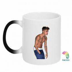 Кружка-хамелеон Justin Bieber - FatLine