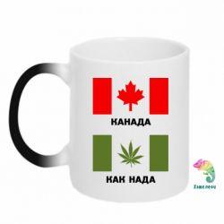Кружка-хамелеон Канада Как надо - FatLine