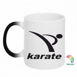 Кружка-хамелеон Karate