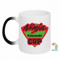 Кружка-хамелеон Kawasaki Ninja Cup - FatLine