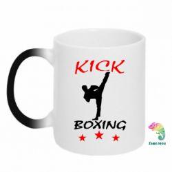 Кружка-хамелеон Kickboxing Fight - FatLine