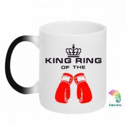 Кружка-хамелеон King Ring